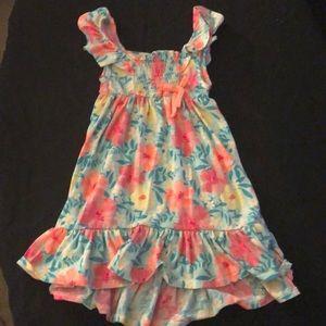LITTLE LASS flowered dress